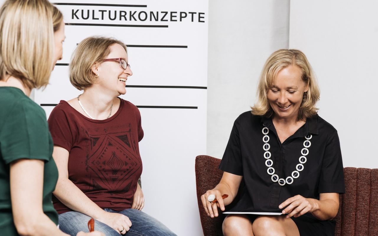 Karin Wolf Moderation, Foto: Marko Mestrovic